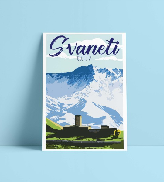 Lamaria-A4 format poster By Geoposter